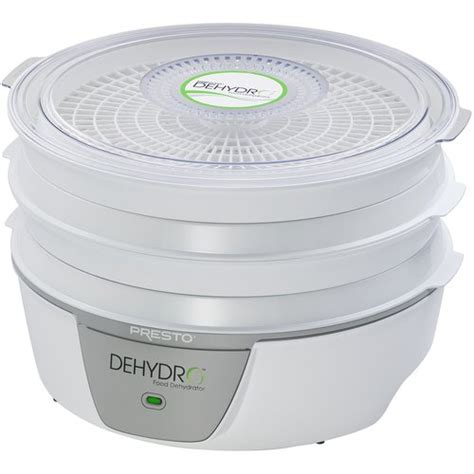 presto electric food dehydrator white walmart com