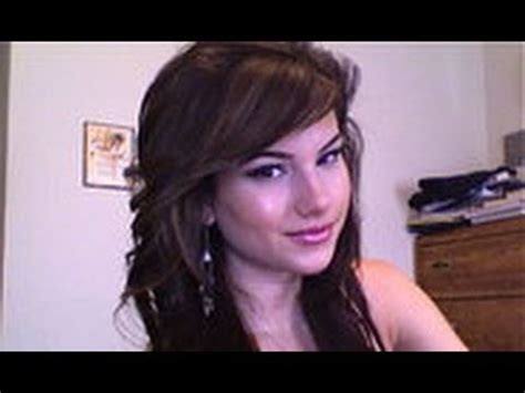 style bangs away from face how to style side swept bangs youtube