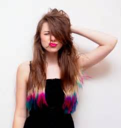 quot fashions fade style is eternal quot dip dyed hair