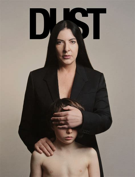 lade stile marina marina abramovic for dust
