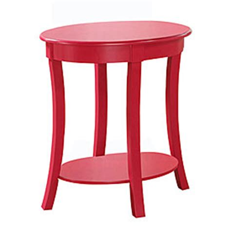 Pink Accent Table View Pink Oval Accent Table Deals At Big Lots