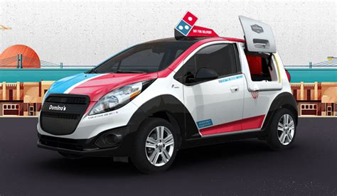 Dominos Pizza Cars by Dominos Dxp Autos Post