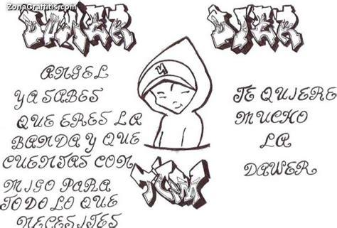 imagenes para dibujar goticas graffitis de letras para dibujar imagui