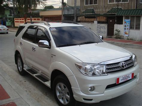 fortuner specs markandal 2010 toyota fortuner specs photos modification