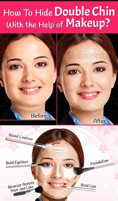 how to contour face jowles get rid of double chin 5 min express routine youtube