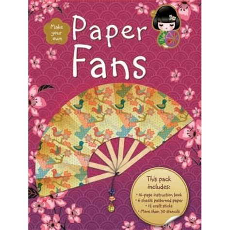 Make Your Own Paper Fan - make your own paper fans