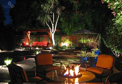 outdoor lighting ideas for backyard landscape lighting ideas