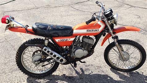 1972 Suzuki Ts 125 1972 Suzuki Ts125 Ts125j Duster Front Axle Oem Ebay