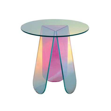 Shimmer Tables   Patricia Urquiola   Glas Italia   SUITE NY