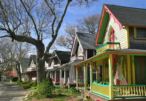 Oak Bluffs Cottages by Massachusetts With Aaa Discounts Offerings Travel To