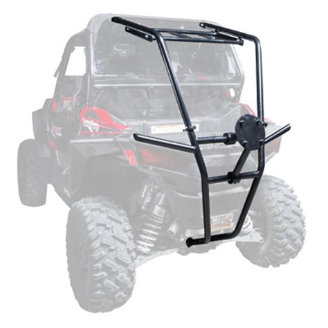 Spare Tire Cargo Rack by Tusk Rear Bumper Cargo Rack And Spare Tire Carrier For