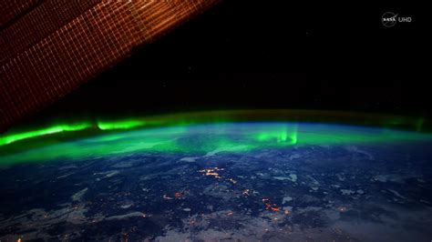 auroras from space pictures nasa s ultra hd footage of aurora borealis from space will