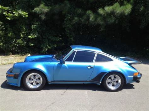 porsche 930 turbo blue buy used 1977 porsche 930 turbo carrera in chapel hill
