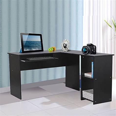 large study table 120 x 140 x 75 cm large corner computer desk home office