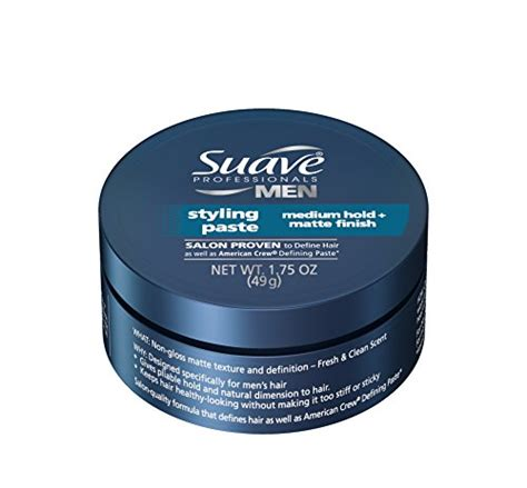 best mens matte styling paste suave professionals men s styling paste 1 75 ounce pack