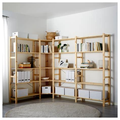 ivar 4 sections shelves ikea ivar 4 sections corner pine 229 144x30x179 cm ikea
