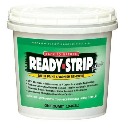 home depot paint eco friendly ready 1 qt safer paint and varnish remover