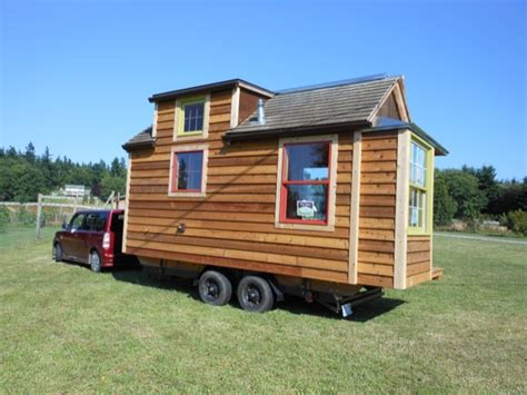 micro tiny house mighty micro house 136 sq ft cabin on wheels