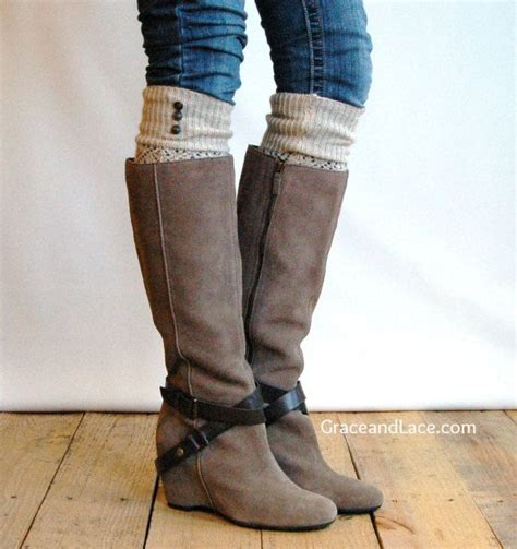 sock boots for legs boot socksmetals buttons legs warmers grace and lace