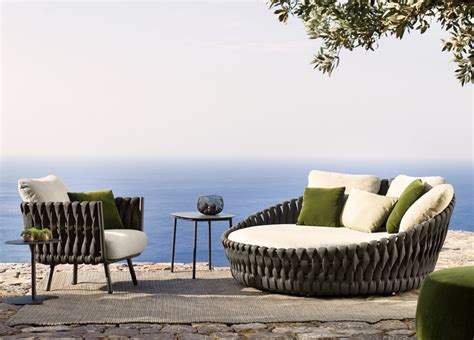 tribu tosca garden day bed tribu outdoor furniture at go modern