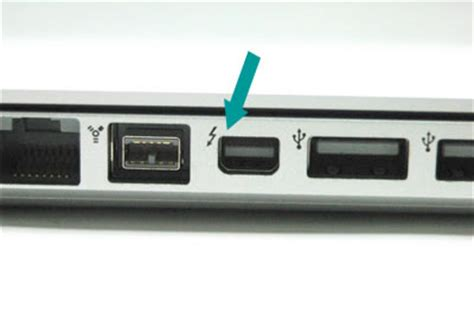 what is a thunderbolt port correctly identifying the apple thunderbolt port