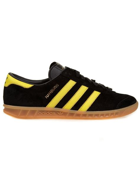 adidas hamburg black adidas originals hamburg black yellow footwear from