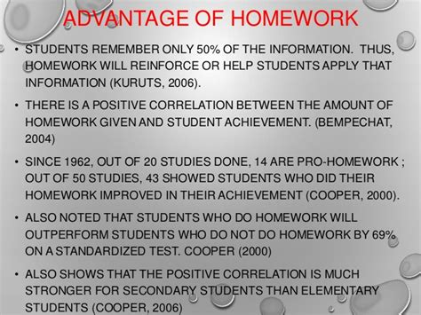 The Advantages Of Homework by Benefit Of Homework Dailynewsreport970 Web Fc2