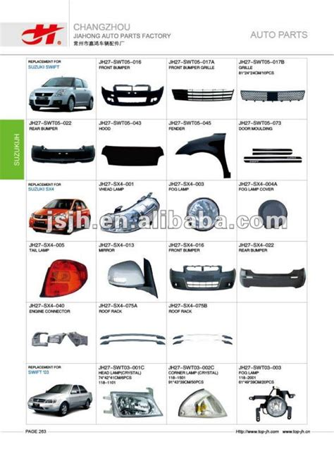 Suzuki Sx4 Spare Parts Car For Suzuki And Sx4 And 03 Spare Parts