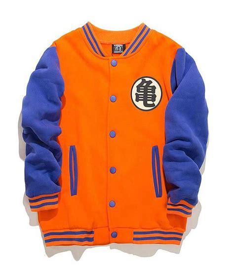 z design jacket style parka goku dragon ball z jacket in letterman style usa jacket