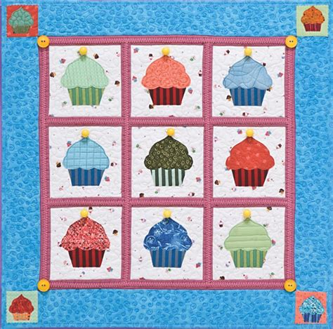 Cupcake Quilt Block by Cupcakes Quilt From C T Publishing Favecrafts