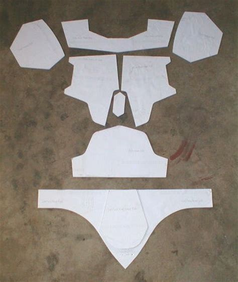 boba fett armor template how to scratchbuild a boba fett costume using cardboard