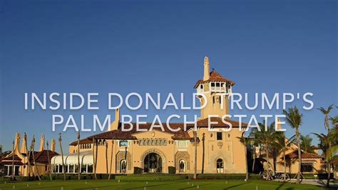donald house in florida donald s palm estate mar a lago