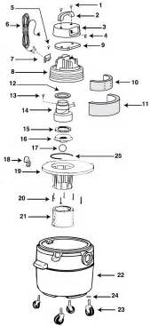 wiring diagram for a shop vac model 16lt550a wiring electrical diagram pictures