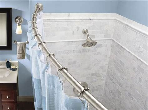 curtain rods for less 11 ways to rev your bathroom for 100 or less