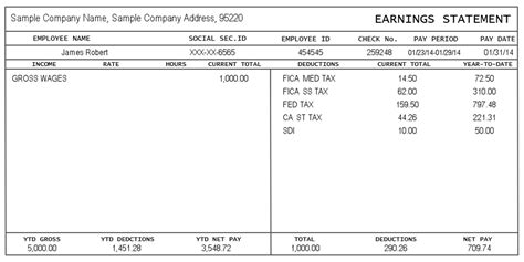 Pay Stub Create Download For Free Formswift Truck Driver Pay Stub Template