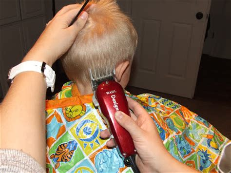 how to cut boys hair like a pro heavenly homemakers how to cut boys hair the professional way simply