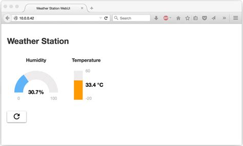 How to make a Weather Station with built in Web UI