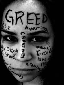 Image result for greed==