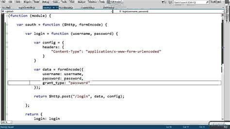angularjs error pattern angularjs authorization token tutorial pluralsight 2454