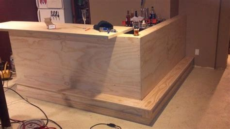 how to build a commercial bar top basement bar build page 2 home brew forums dry bar