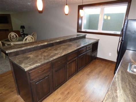 formica bar tops formica 180fx laminate quot slate sequoia quot was used for this
