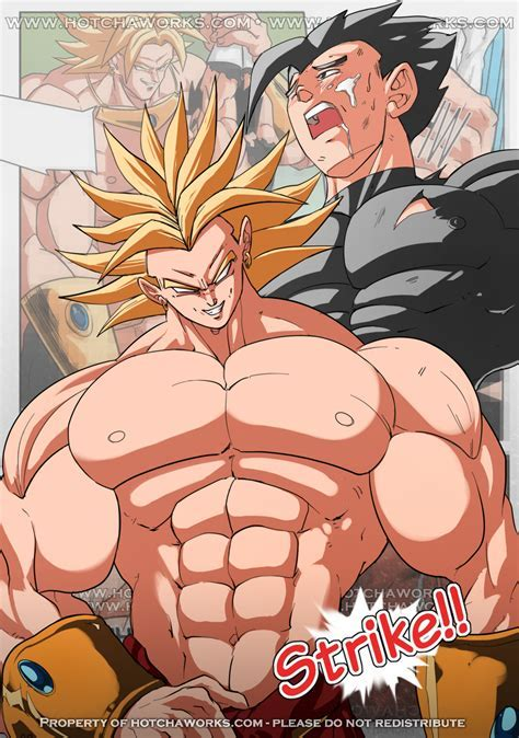 Doujinshi Dbz Striker Dragon Ball Yaoi Hentai Foros Dz