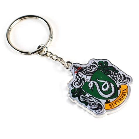 harry potter keyring slytherin crest half moon bay
