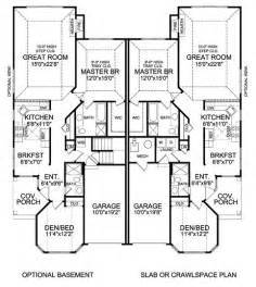 Duplex Floor Plans by 25 Best Ideas About Duplex House Plans On Pinterest