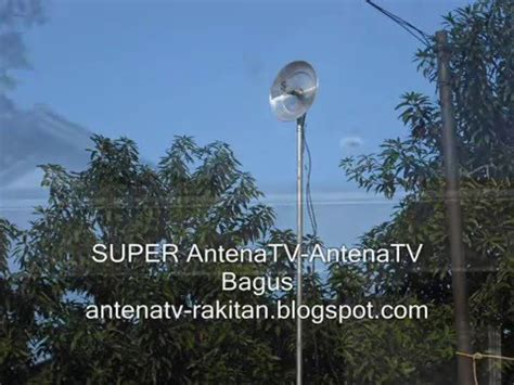 membuat antena tv dari tutup panci super antena tv tutup panci youtube