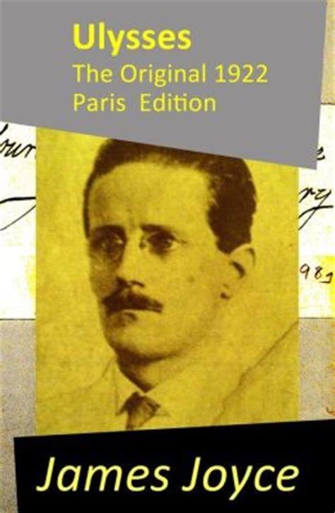 ulysses the original 1922 paris edition by james joyce 9788074843372 nook book ebook