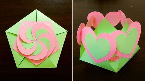 Make Gift Cards - gift envelope sealed with hearts learn how to make a gift card with interlocking