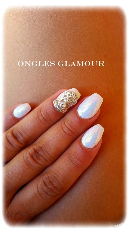gel blanc ongles ongles en gel blanc ongles gel blanc destin nail design