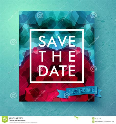 save the date text template bold simple save the date wedding template stock vector