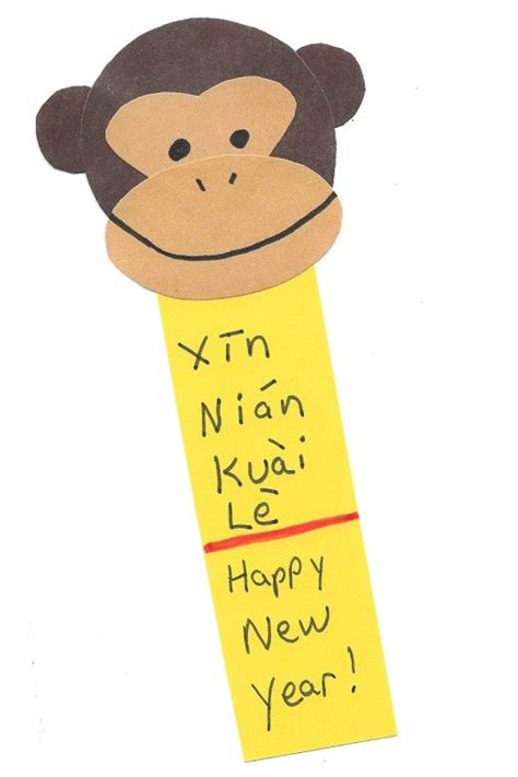 new year craft ideas monkey kid crafts for year of the monkey new year
